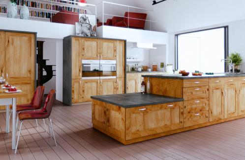Les cuisines Bois Contemporain et Traditionnel